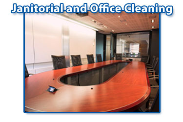 picture showing table chairs janitorial office cleaning services company website design home page